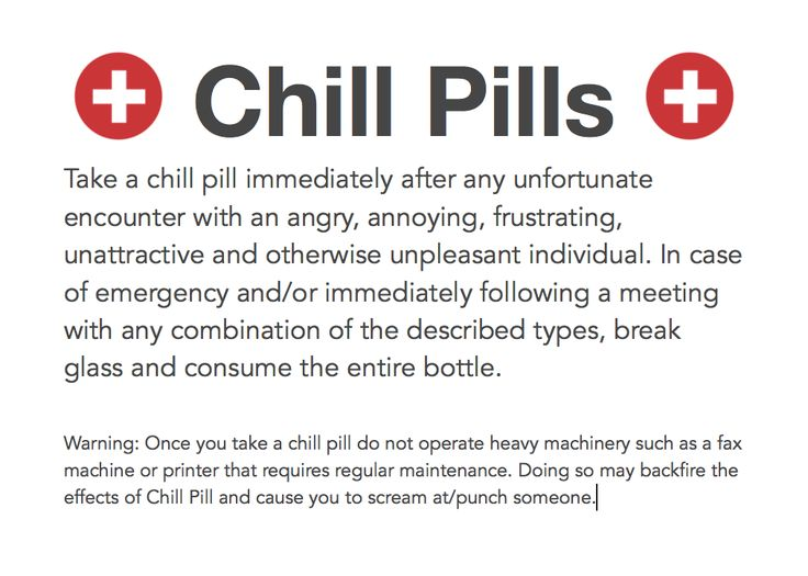 graphic relating to In Case of Emergency Break Glass Printable known as chill tablets