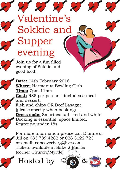 Valentines Sokkie And Supper Evening