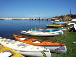 Canoes at Kleinmond