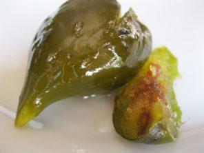 Green fig preserve